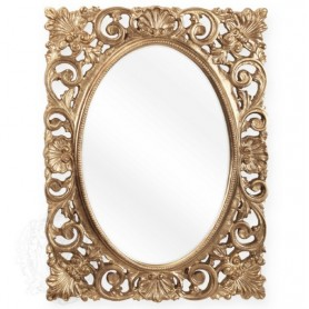 Зеркало ажурное Migliore 70.721 (цвет золото)