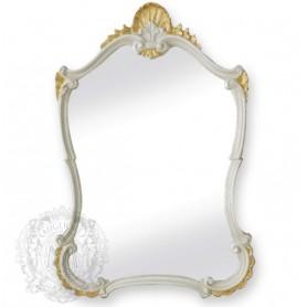 Зеркало фигурное Migliore 70.782 (цвет белый с золотом)