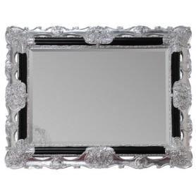 Зеркало прямоугольное Migliore 70.508 (цвет черный с серебром)