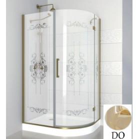 Душевой уголок Cezares Magic Royal Palace RH-1 120х90 см., профиль золото, стекло