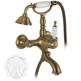 Смеситель для ванны Migliore Oxford 6302 бронза ➦ Vanna-retro.ru