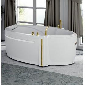 Ванна акриловая Fra Grande Ницца с панелью