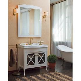 Мебель для ванной La Beaute Brigitte BRI90LBO (белый матовый)