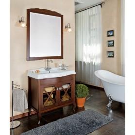 Мебель для ванной La Beaute Brigitte BRI90N (орех матовый)