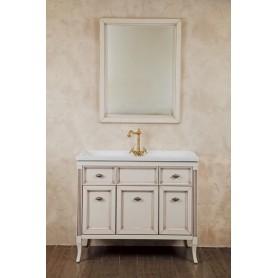 Мебель для ванной La Beaute Vivien BVI100AVP (слоновая кость с патиной) ➦