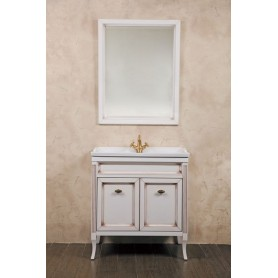 Мебель для ванной La Beaute Vivien BVI80P.AVP (слоновая кость с патиной)