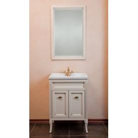Мебель для ванной La Beaute Vivien BVI60P.AVP (слоновая кость с патиной)