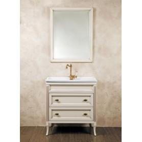 Мебель для ванной La Beaute Vivien BVI80C.AVP (слоновая кость с патиной) ➦