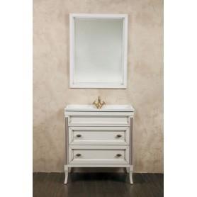 Мебель для ванной La Beaute Vivien BVI80C.LBP (белый с патиной)