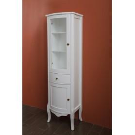 Шкаф-колона La Beaute Lorette (белый глянцевый) ➦ Vanna-retro.ru
