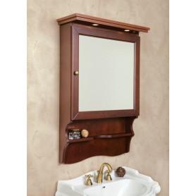 Зеркало-шкаф La Beaute Lorette SLO70N.Dx (орех матовый)