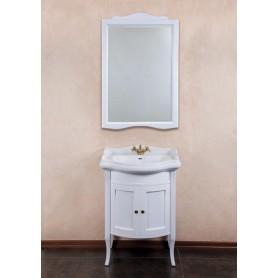 Мебель для ванной La Beaute Lorette BLO65LBО (белый матовый) ➦ Vanna-retro.ru