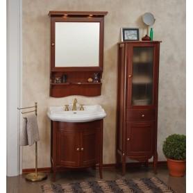 Мебель для ванной La Beaute Lorette BLO65N (орех матовый) ➦ Vanna-retro.ru