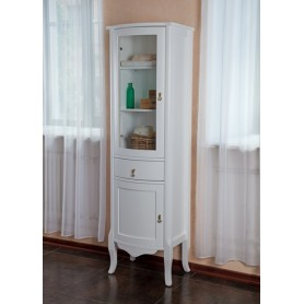 Шкаф-колона La Beaute Marian (белый матовый)