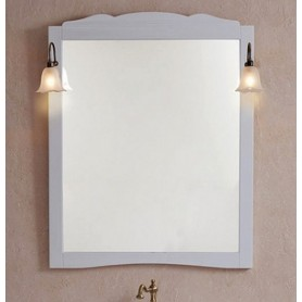Зеркало La Beaute Marian SPEC90110LBО (белый матовый)