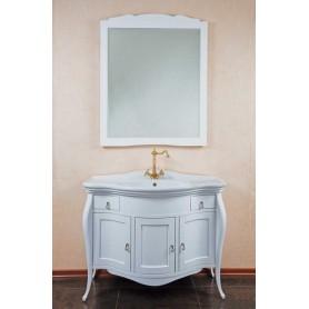Мебель для ванной La Beaute Marian BMA102LBL.BR (белый глянцевый) ➦ Vanna-retro.ru