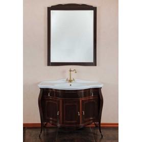 Мебель для ванной La Beaute Marian BMA102MOK.BR (темное дерево глянцевый)