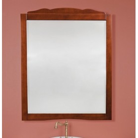 Зеркало La Beaute Nora SPEC90110N (орех матовый) ➦ Vanna-retro.ru