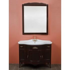 Мебель для ванной La Beaute Nora BNO102MOK (темное дерево глянцевый) ➦
