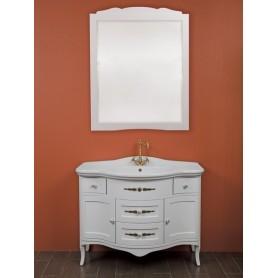 Мебель для ванной La Beaute Sabrina C BSA102LBL.C (белый глянцевый)