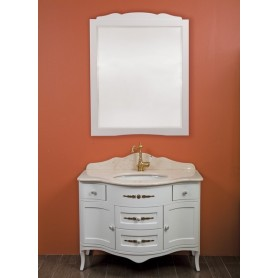 Мебель для ванной La Beaute Sabrina M BSA102LBО.M (белый матовый) ➦ Vanna-retro.ru