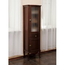 Шкаф-колона La Beaute Joanna (орех матовый)