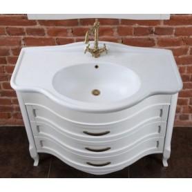 Мебель для ванной La Beaute Joanna BJO102LBO.С (белый матовый)