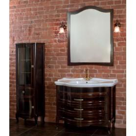 Мебель для ванной La Beaute Joanna BJO102MOK.С (темное дерево глянец)
