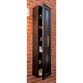 Шкаф-колона подвесная La Beaute Cornelia CCO.REV.LNO (черный матовый) ➦