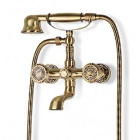 Смеситель для ванны Bronze de Luxe 10119 (бронза) ➦ Vanna-retro.ru