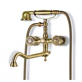 Смеситель для ванны Bronze de Luxe 10119D (бронза) ➦ Vanna-retro.ru