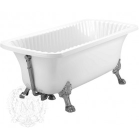 Акриловая ванна Migliore Olivia ML.OLV-40.103 Cr (ножки хром Leone)