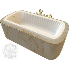 Акриловая ванна Migliore Olivia ML.BLL-40.104 ➦ Vanna-retro.ru