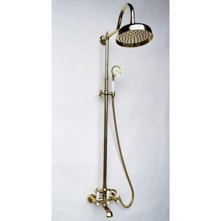 Душевая стойка с изливом Magliezza Classico 1101-do цвет золото купить в Москве