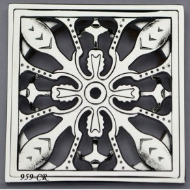 Решетка для трапа Magliezza 959 (хром) - Vanna-retro.ru
