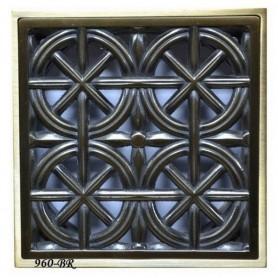 Решетка для трапа Magliezza 960 (бронза) - Vanna-retro.ru