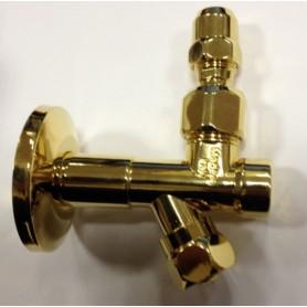 Кран-фильтр для подключения смесителя Migliore ML.RIC-10.105 золото ➦ Vanna-retro.ru