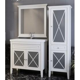 Мебель для ванной Опадирис Палермо 90 цвет белый ➦ Vanna-retro.ru