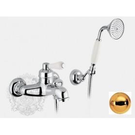 Смеситель для ванны Migliore Ermitage 7002 золото ➦ Vanna-retro.ru