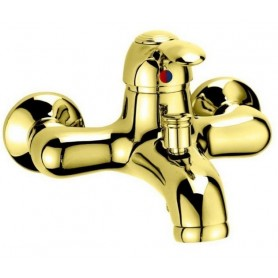 Смеситель для ванны Cezares Lira VDM1-03 золото ➦ Vanna-retro.ru