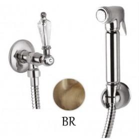 Гигиенический душ с запорным вентилем Cezares Diamond KS-02-Sw бронза ➦