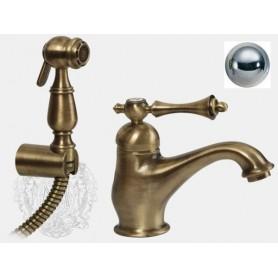 Смеситель для раковины с гигиеническим душем Migliore Bomond 9714 хром