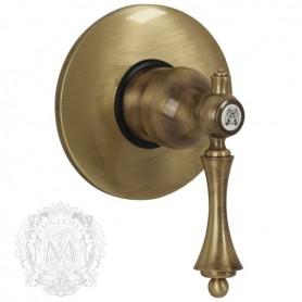 Смеситель для душа скрытого монтажа Migliore Bomond 9730 бронза