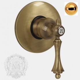 Смеситель для душа скрытого монтажа Migliore Bomond 9730 золото