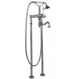 Смеситель для ванны напольный Cezares Margot VDP2-01 хром