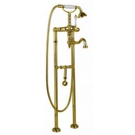 Смеситель для ванны напольный Cezares Margot VDPS2-03 золото