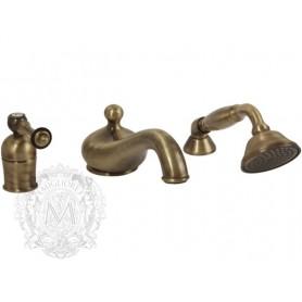 Смеситель на борт ванны Migliore Bomond 9755 бронза