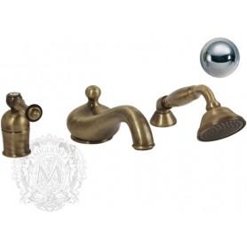 Смеситель на борт ванны Migliore Bomond 9755 хром