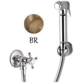Гигиенический душ с запорным вентилем Cezares Lord KS-02 цвет бронза ➦