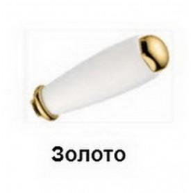 Ручка белая Migliore 19520 золото ➦ Vanna-retro.ru